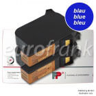 Francotyp-Postalia ink cartridge set blue for centormail series franking machine